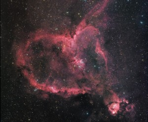 Image Copyright and Credit: IC1805 - The Heart Nebula Daniel Marqardt