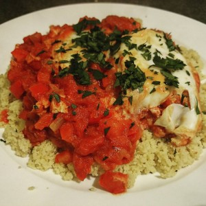 Shakshuka on CousCous