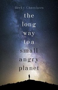 The Long Way to a Small Angry Planet - cover